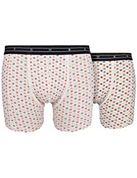 Scotch & Soda Men's Boxershorts 2-ER Pack Combo A (allover Print)
