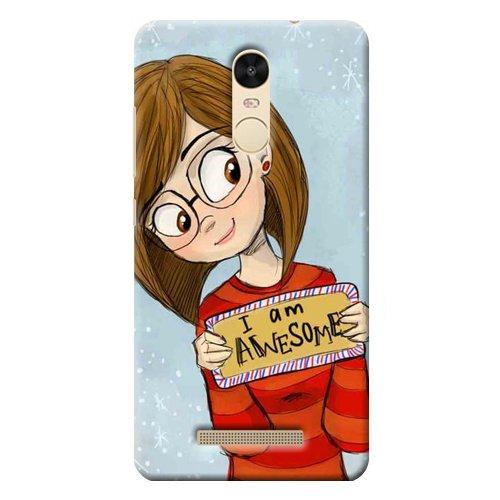 Kaira Brand Designer Back Case Cover for Xiaomi Redmi Note 3 (Awsome)