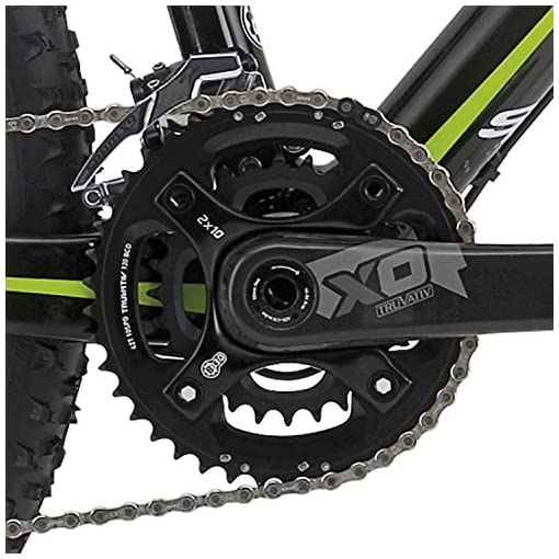 "Shockblaze BK12SB0610 Krs Elite 29"" Mountain Bike, Nero"