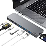Pourvie Thunderbolt 3 USB C Adapter mit HDMI für MacBook Pro 13
