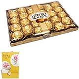 Sfu E Com Ferrero Rocher Chocolate 24 Pieces With Birthday Greeting Card Chocolate Hamper Birthday Gift