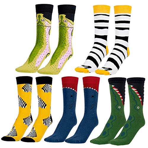 MOOKLIN ROAM 5 pares Calcetines Estampados Colores