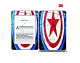 Elton 3M Vinyl Skin Decal Sticker Protective for Kindle Paperwhite eBook Reader Wrap Cover Skin - Captain America Shield