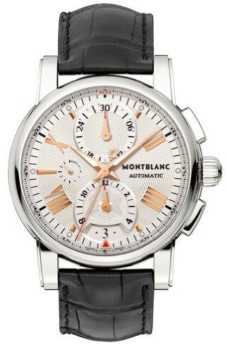 MontBlanc Star 4810Chronograph Automatik Herren Armbanduhr 105856