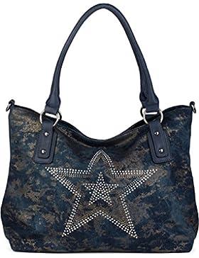 styleBREAKER Jeans Shopper Tasch
