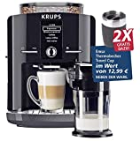 KRUPS One-Touch-Cappuccino Vollautomat EA8298.TC inkl. 2x TravelCup