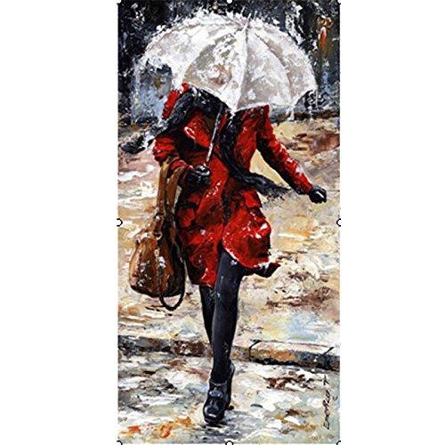 Zantec Transparente Regenschirm Frameless DIY Gemälde Handgemalte Bilder Liebhaber unter Umbrella Serie Digital - Halloween Pinterest Katzen