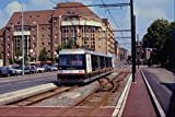 542078 Low Floor Articulated Tram No 9 Lille France A4