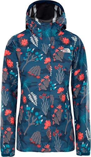 THE NORTH FACE Print Venture Jacket Women Größe XL Blue Wing Teal/Joshua Tree Print Womens Venture