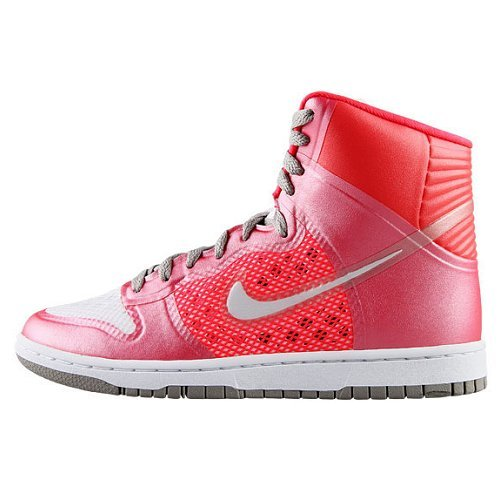 Nike Dunk Hi High skny Skinny Pr HYP Hyperfuse Premium Baskets - - Pink/Grau/Weiß,