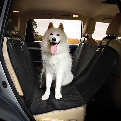 YOSH Cubierta Asiento Coche para Perro, Universal Funda Asiento Impermeable Coche para Mascota para Saloon SUV etc, Antideslizante Resistente al Arañazos y al Manchas, Fácil de Instalar y Limpiar