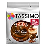 Tassimo Baileys Hot Choco, Heiße Schokolade, Kakao, Schokogetränk, Kakaokapsel, 8 Portionen