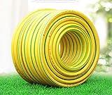 STRIDCJX Garten Haushalt Hohe Elastische PVC-Schlauch Gummi Frostschutzmittel Garten 1/2 Zoll Rohr Weich Schwarz Rot Starke Faser Bewässerung Anti UV,30m