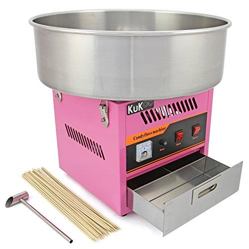 Máquina de Algodón de Azúcar Kukoo y 500 palos