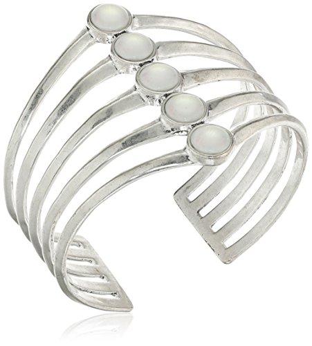lucky-brand-moonstone-stack-cuff-bracelet