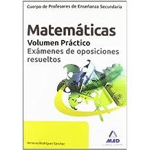 Matematicas - Vol. Practico (Profesores Eso - Fp 2012)