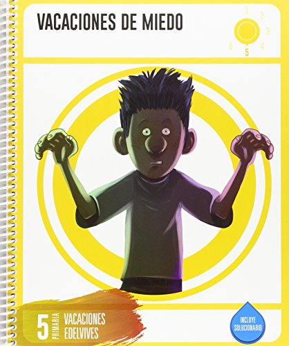 Cuadernos de Vacaciones 5 Primaria- Vacaciones de Miedo - 9788414002735