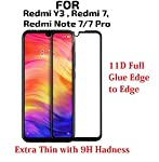 JGD PRODUCTS Tempered Glass for Xiaomi Redmi 7 / Xiaomi Redmi Note 7 / Redmi Note 7 Pro/Xiaomi Redmi Y3 -Edge to Edge...