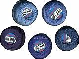 Unbekannt Alze-Garne Stopftwist 20m Knäul Baumwolle 10er Mix blau