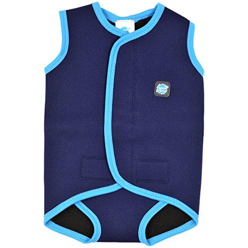 Splash About Baby Neoprenanzug, Marine/Türkis, 0-6 Monate, BWNTS