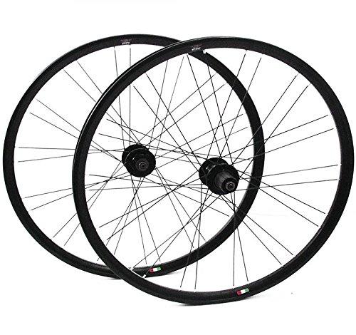 Preisvergleich Produktbild Gipiemme T-DUE NISI MTB Laufradsatz Disc 6 schwarz 26 Zoll Mountainbike Shimano