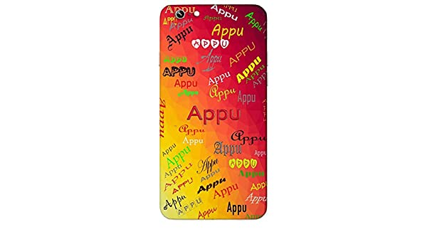 Appu Name Sign Printed All Over Customize Amazonin Electronics