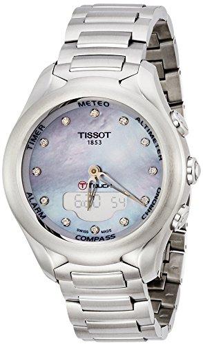 Tissot Reloj Analógico-Digital para Mujer de Automático con Correa en Acero Inoxidable T075.220.11.106.00
