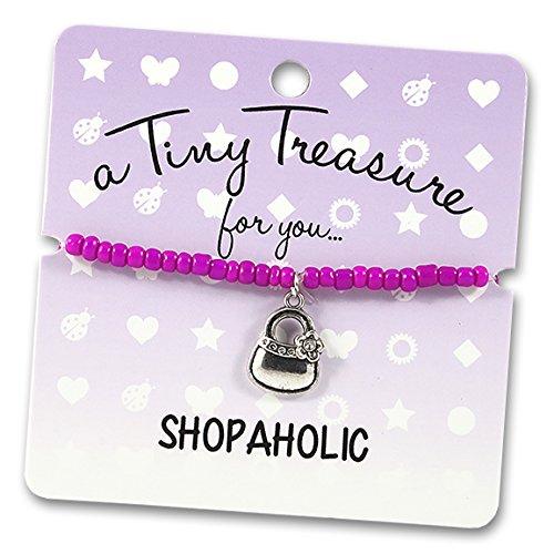 Ein Tiny Schatz für Sie... Shopaholic. Armband