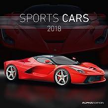 Sports Cars 2018 - Autokalender / Broschürenkalender (30 x 60 geöffnet) - Sportwagen - Autokalender - Fahrzeuge - Wandplaner