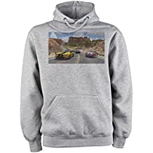 Trackmania 2 Nature Trees Seven Yellow Unisex Hoodie