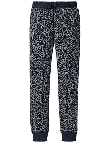 Schiesser Mädchen Mix & Relax Jerseypants Schlafanzughose, Blau (Nachtblau 804), 176 (Herstellergröße: L)