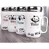 Satyam Kraft Ceramic(1 Piece) Mug For Kids/Coffee Mug/Ceramic Mug/Mug/Gifts/Birthday Return/Gift For Kids/Gift For Birthday/Gift For New Year/Gifts/Panda Design Mug(Random Design)