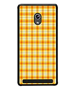 Fuson Designer Back Case Cover for Asus Zenfone 6 A600CG (Wallpaper Yellow Glow Patterns Professional Official)