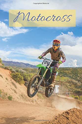 Motocross: Motivational Notebook Journal Diary 110 Pages Blank 6 x 9