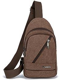 59528b71e Mochila Backpack Daypack Bookbag Al Aire Libre Estudiante Bandolera Lona  Multi-Moda de
