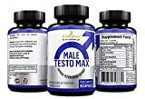 BNergetics Male Testo Max, 60 capsules, supports muscle contraction, strength, endurance and libido