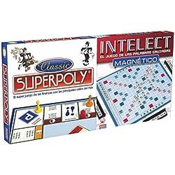 Falomir- Superpoly + Intelect magnético, Juego de Mesa, Clásicos (11699)