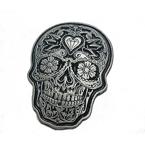 Pin Día de los Muertos Mexico Día de los Muertos Sugar Skull