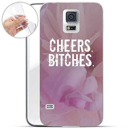 Motivo Serie 1 Custodia Rigida Iphone - You are non speciale nero, Samsung Galaxy S5 Cheers Bitches