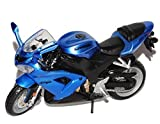 Kawasaki Ninja ZX-10R Blau 1/18 Bburago Modell Motorrad