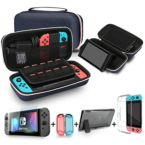 Bestico Kit de Accesorios para Nintendo Switch