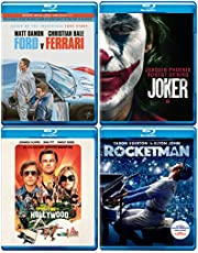 Oscar Winners: 4 Movies Collection - Ford V Ferrari + Joker + Once Upon a Time in… Hollywood + Rocketman (4-Disc)