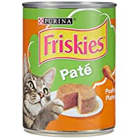Purina Friskies 368g Pate Poultry Platter Wet Cat Food Can