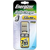 Energizer 635036 Caricatore per pile ricaricabili, include 2 x pila NiMH AAA Micro 700 mAh
