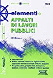 Elementi di appalti di lavori pubblici