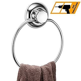 51UiH93rIwL. SS324  - MaxHold - Suction Cup - Stainless - Towel Holder