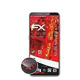 atFolix Schutzfolie passend für ZTE Nubia Z18 Mini Folie, entspiegelnde & Flexible FX Bildschirmschutzfolie (3X)