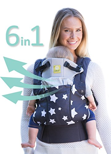 six-position-360-ergonomic-baby-child-carrier-by-lillebaby-the-complete-all-seasons-charcoal-w-stars