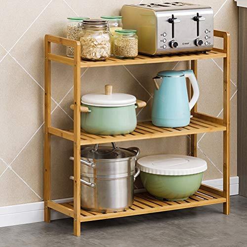 Kitchen furniture - Support multi-couches réglable Support de rangement pour étagère support de four à micro-ondes WXP (taille : 68X25X71CM)