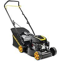 McCulloch M46-120 Classic Push lawn mower Petrol Black, Yellow - Lawn Mowers (Push lawn mower, 1100 m², 46 cm, 3 cm, 8 cm, 0.8 L) - Trova i prezzi più bassi